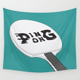 Ping Pong Wall Tapestry