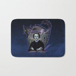 Edgar Allan Poe Gothic Bath Mat