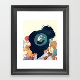 Inside Yourself Framed Art Print