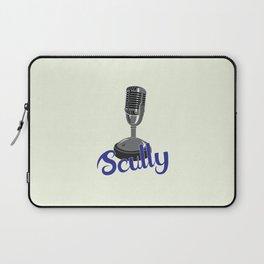 Vin Scully Mic Laptop Sleeve