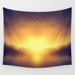 welcome to the dream gate. ayahuasca trip Wall Tapestry