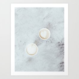 Coffee Date Art Print