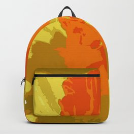 Spring Daffodil Vector Isolated Backpack