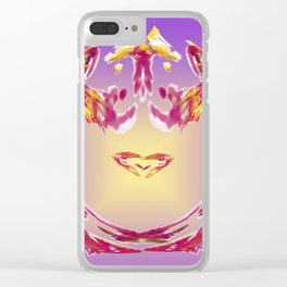 the inner heart - das innere Herz Clear iPhone Case