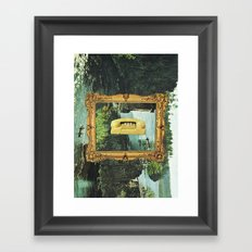 would you bite the hand that feeds? Framed Art Print