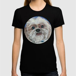 Ruby the Shih Tzu Dog Portrait T-shirt