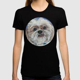 Ruby the Shih Tzu Dog Portrait T-shirt