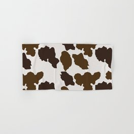 Cowhide Pattern Hand & Bath Towel