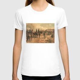 Civil War Siege of Atlanta by Thure de Thulstrup (1888) T-shirt