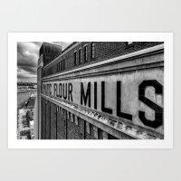 Baltic Flour Mill 2 Art Print