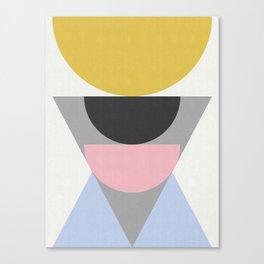 Geometric Art XIX Canvas Print