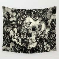 victorian Wall Tapestries featuring Victorian Gothic by Kristy Patterson Design