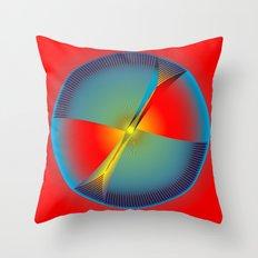 Circle Study No. 104 Throw Pillow