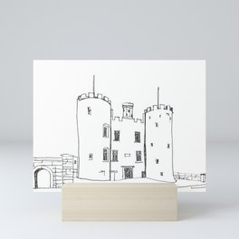 Castle by the Rock Mini Art Print