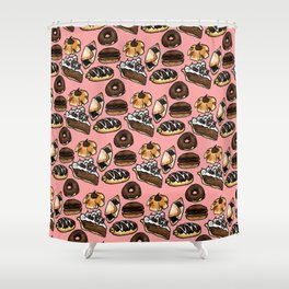 Pastry Skin Shower Curtain