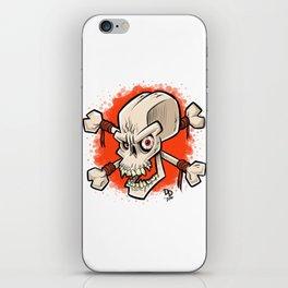 Skull and Crossbones iPhone Skin
