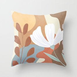 Elegant Shapes 08 Throw Pillow