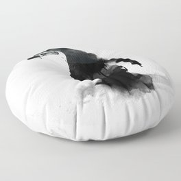 little pingu Floor Pillow