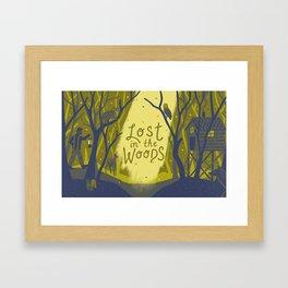 Graft - Lost in the Woods Framed Art Print