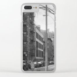 West 21st Street, New York, March 2018 Clear iPhone Case
