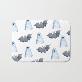 Halloween Pattern Bath Mat