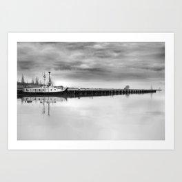 Steady Waters Art Print