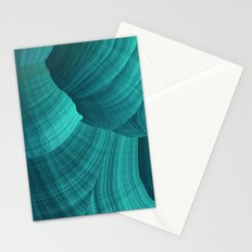 Turquoise Sediment Stationery Cards