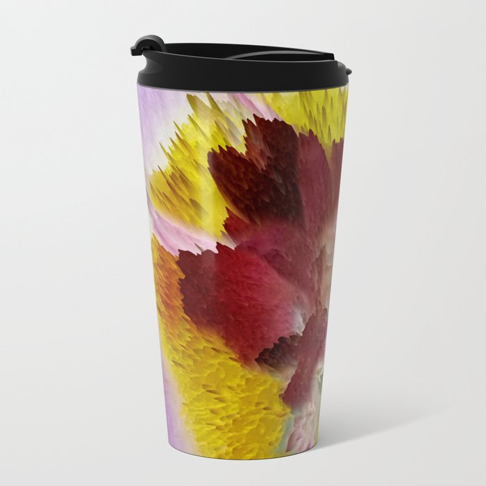Beauty From Within Metal Travel Mug