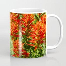 Orange Indian Paintbrush (Castilleja) Growing Wild Coffee Mug