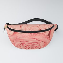 Some People Grumble - Living Coral Roses Fanny Pack