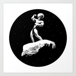 Mr Universe Art Print
