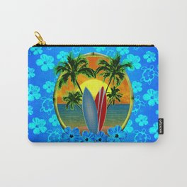 Sunset And Surfboards Carry-All Pouch