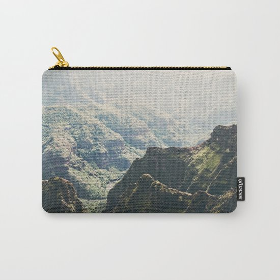Hawaii Green Carry-All Pouch