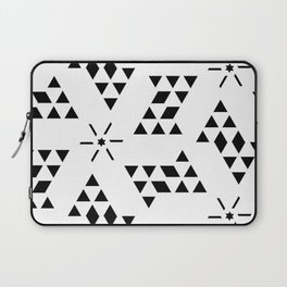 Triangle slide Pattern Laptop Sleeve