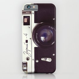 Zorki vintage camera iPhone Case
