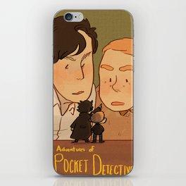 Adventures of Mini-Detectives iPhone Skin