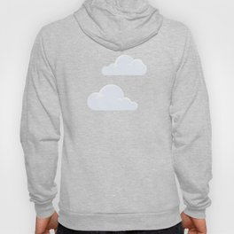 Fluffy clouds Hoody