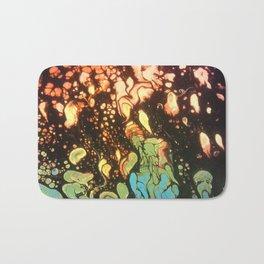 Neon Fire Bath Mat
