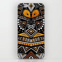 Tribal Festival Noir iPhone Skin