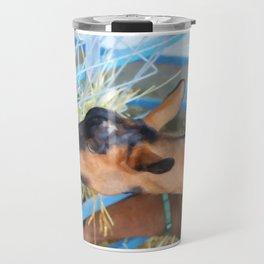 Portrait Of A Goat 2 Travel Mug