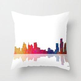 Skyline Boston 1 Throw Pillow