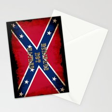 Heritage, not Hatred - US Southern Cross Flag Stationery Cards