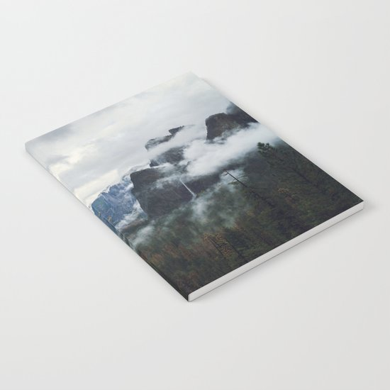 Mountain Landscape photography Notebook