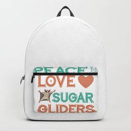 Sugar Glider Hippie Backpack