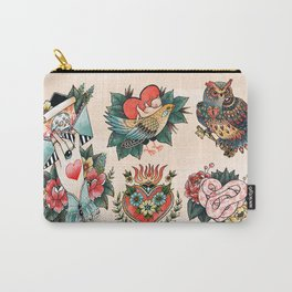 Tattoos of Love Carry-All Pouch