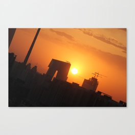 Beijing Sunset Canvas Print