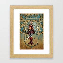 Snips Framed Art Print