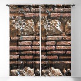 Ancient Mix-media Wall Blackout Curtain
