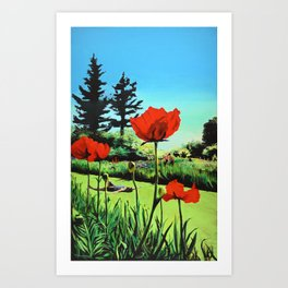 Day Dreaming - Salem Oregon Art Print