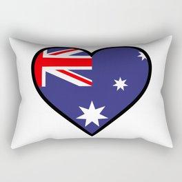 Love Australia Rectangular Pillow